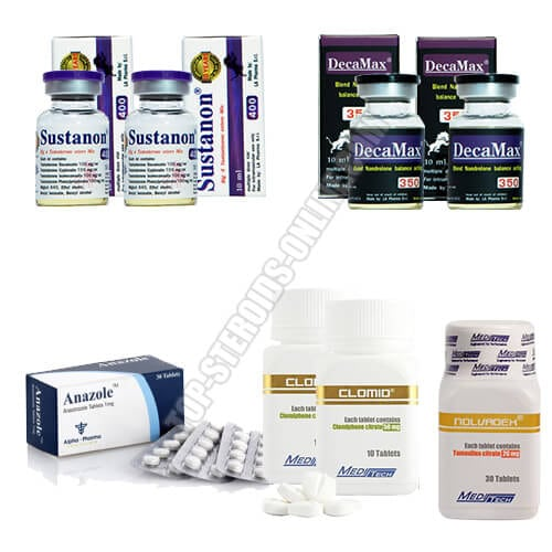 Ultimate Mass Pack - Sustanon + Nandro-Mix - steroidi iniettabili
