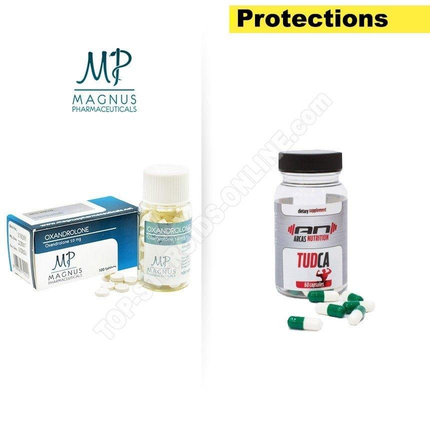 PTO pack - Anavar - 4 недели - Устные стероиды
