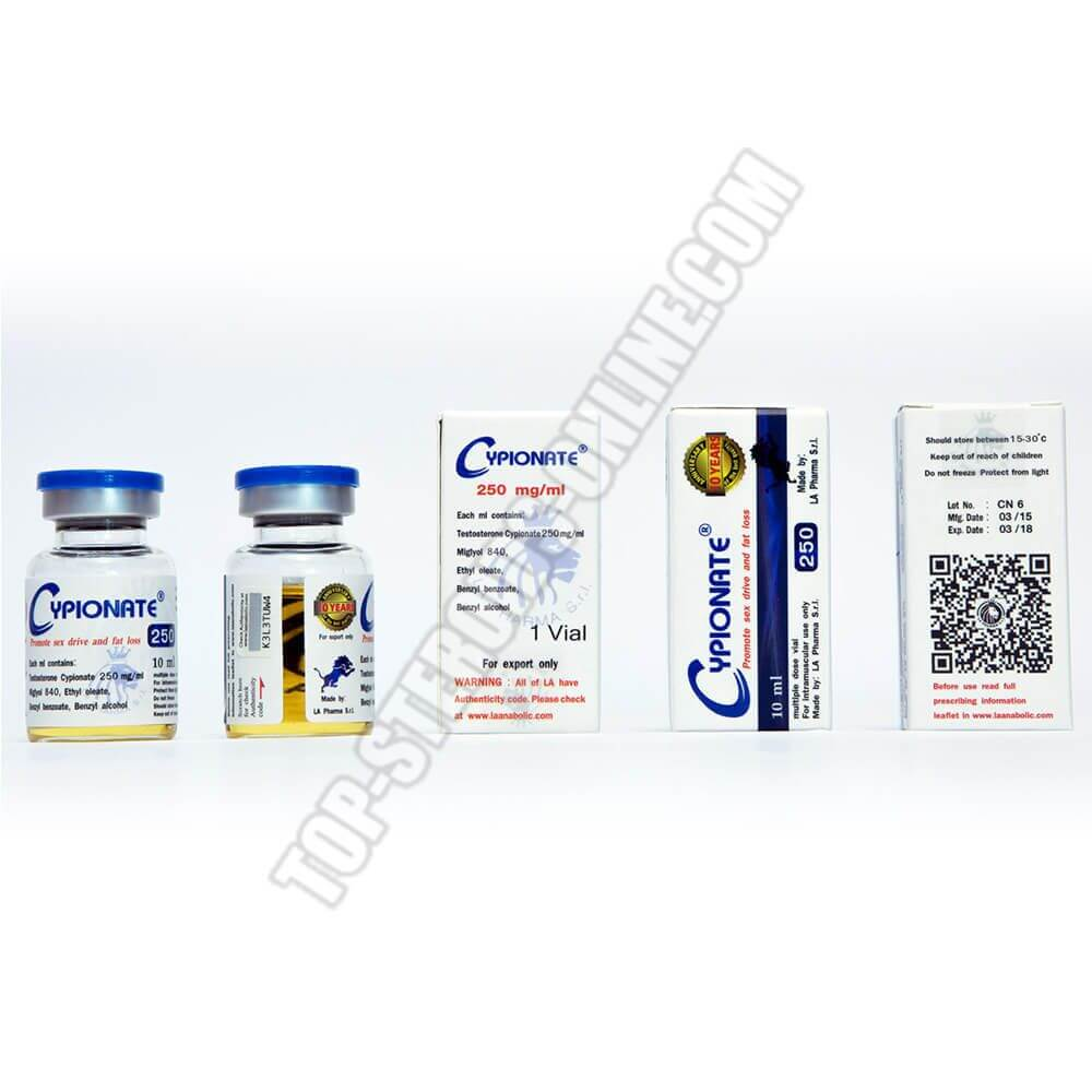 Cypionate 250 LA-Pharma - Flacone da 10ml