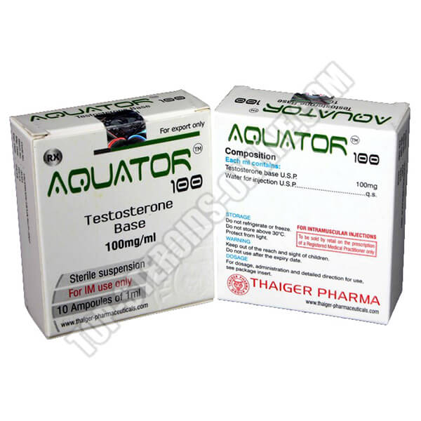 Aquator 100 Thaiger-Pharma - 10 Flaconi da 1ml
