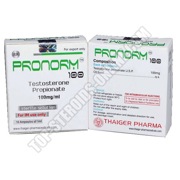 Pronorm 100 Thaiger-Pharma - 10 Fiale da 1ml