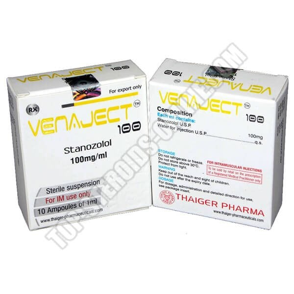 Venaject 100 Thaiger-Pharma - 10 Fiale da 1ml