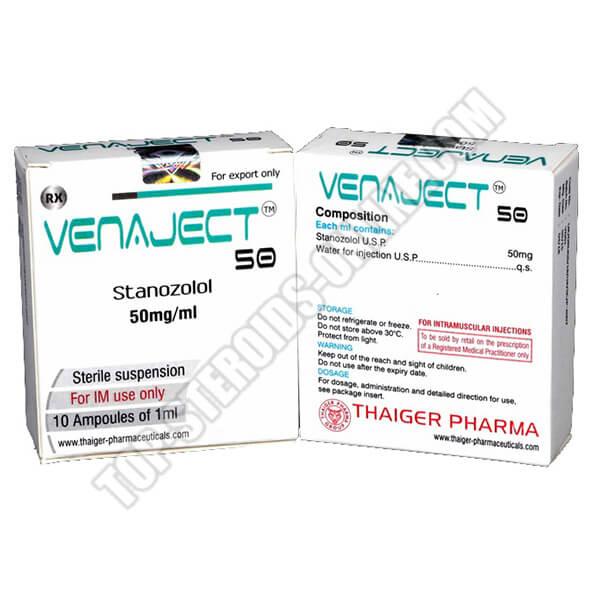 Venaject 50 Thaiger-Pharma - 10 Fiale da 1ml