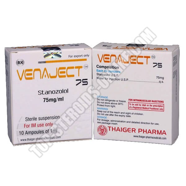 Venaject 75 Thaiger-Pharma - 10 Fiale da 1ml