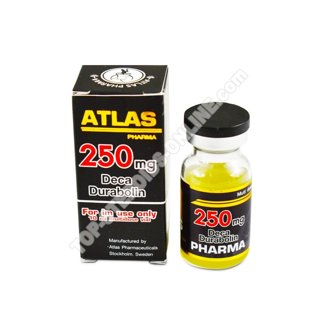 Deca 250 - Atlas-Pharma - Nandrolone decanoato - Bottiglia di 10 ml - 250 mg / ml