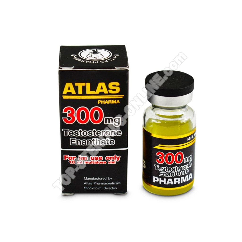 Testosterone enantato 300 - Atlas-Pharma - Bottiglia Di 10ml