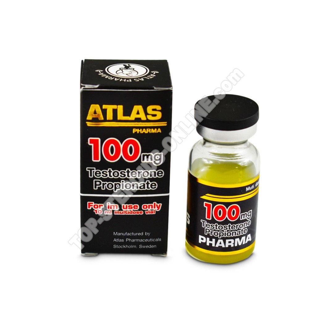 Testosterone propionato 100-Atlas-Pharma - Bottiglia di 10ml