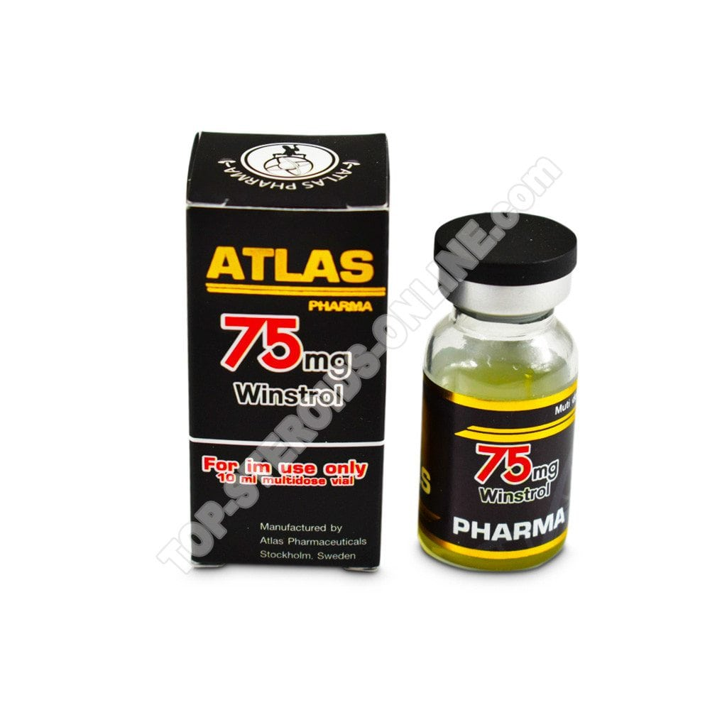 75 Winstrol Atlas-Pharma - Bottiglia di 10ml