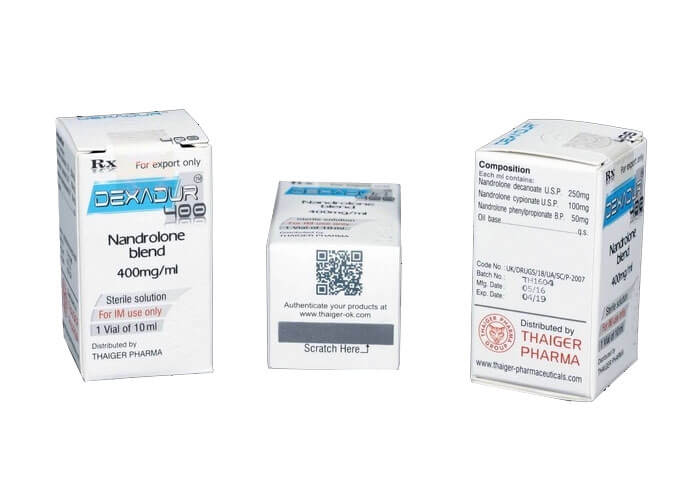 Dexadur 400 Thaiger Pharma-Nandrolone Mix - 10ml