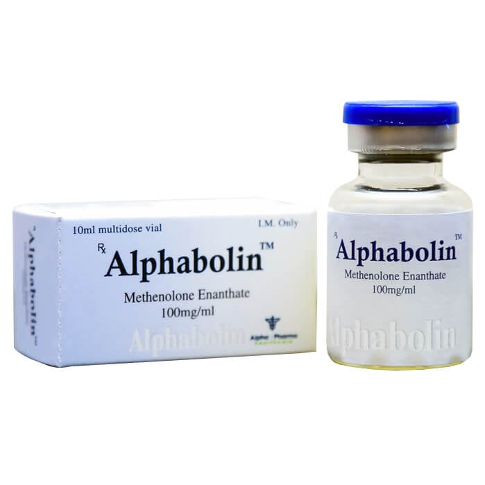 Alphabolin (Methenolone Enanthate = Primobolan) Alpha-Pharma 10ml
