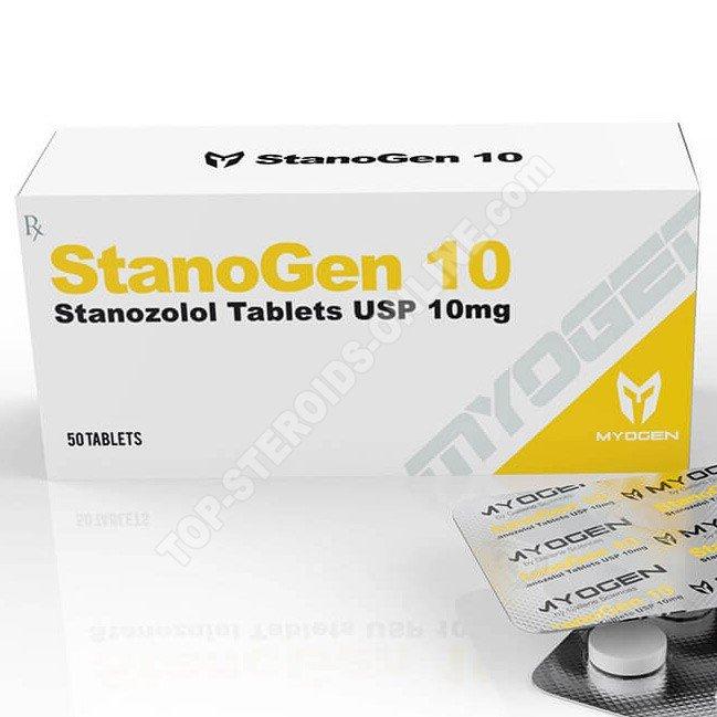 StanoGen 10 (Winstrol) – 10 mg/comprimé – 50 comprimés – MyoGen