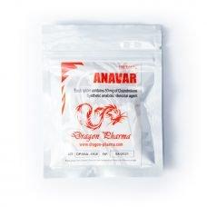 Orální Anavar Dragon Pharma