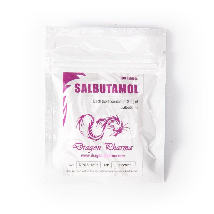 Salbutamol 10mg / tab 100 tabs - Dragon Pharma