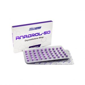 B-ANADROL-50 Oxymetholone 50 mg / tab 100 sekmesi - Meditech