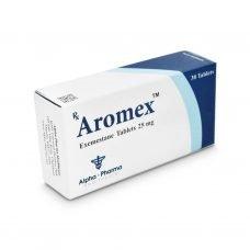 Aromas Aromasin - 30 tabletas 25mg - Alpha-Pharma