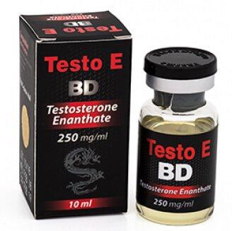 Testo E BD 250 mg / ml x 10 ml - Black Dragon
