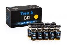 Tren A BD 100 mg/ml x 10 ml - Black Dragon