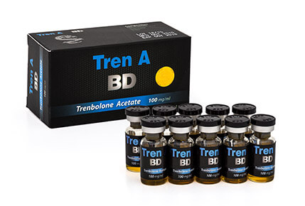 Tren A BD 100 mg / ml x 10 ml - Schwarzer Drache