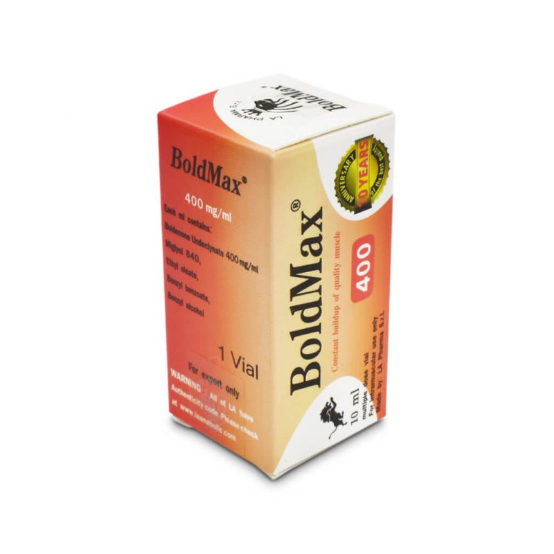 BoldMax 400 10 ml Durchstechflasche - The Pharma