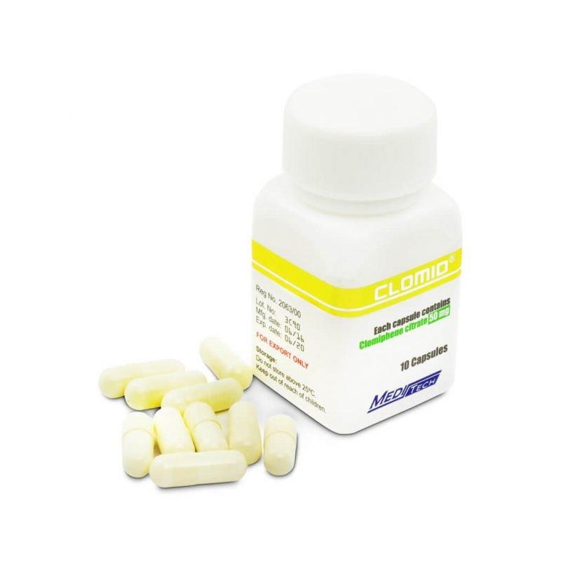 CLOMID Clomifen Citrat 50mg / cap 10cap - Meditech