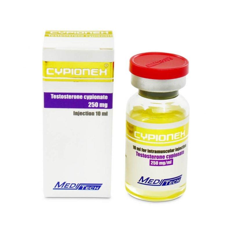 CYPIONEX Testosteron Cypionat 250mg / ml 10ml / Fläschchen - Meditech