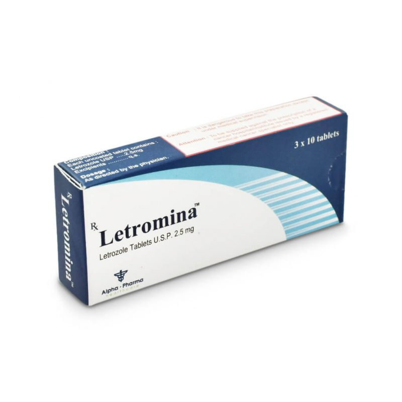 Letromina Femara - 30 Tabletten 2.5mg - Alpha-Pharma