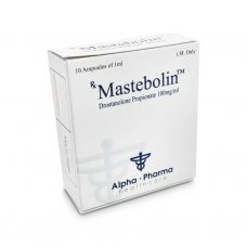 Mastebolin Masteron 100mg / ml 10 x 1ml amp - Alfa-Pharma