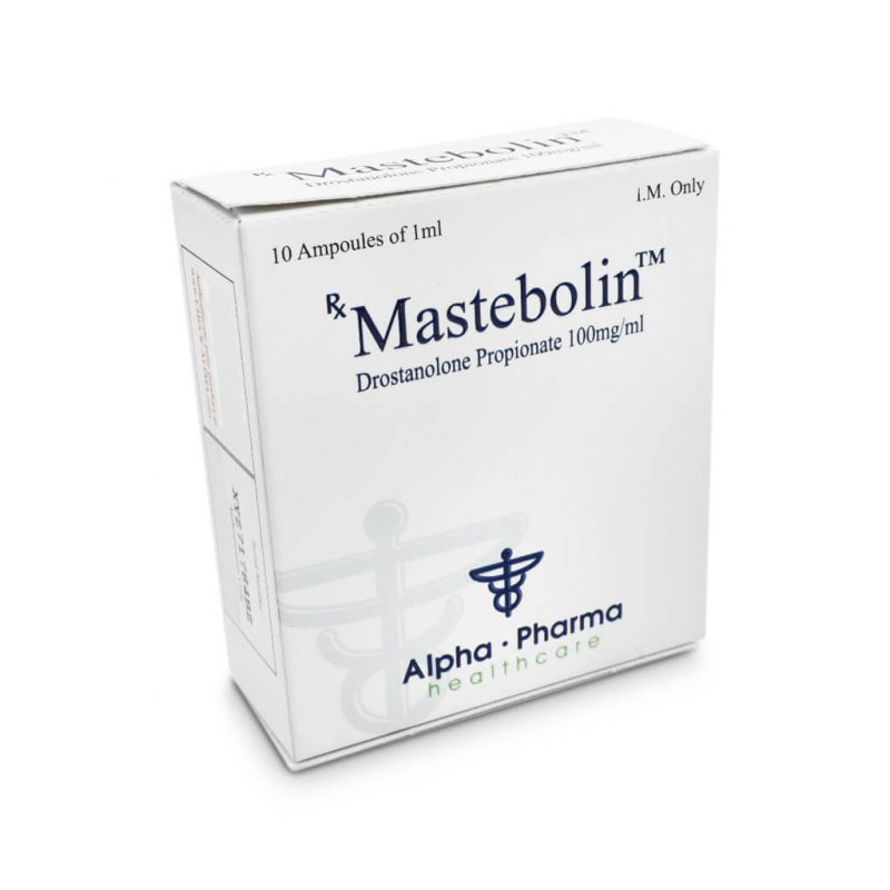 Mastebolin Masteron 100mg / ml 10 x 1ml Ampere - Alpha-Pharma