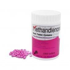 Methandienone 5 mg 1000 tab bottle - LA Pharma
