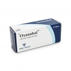 Anavar Oxanabol - 50 tablets 10mg - Alpha-Pharma