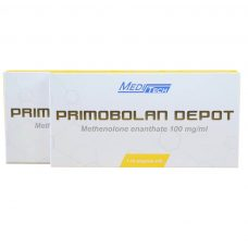 PRIMOBOLAN-1ML Methenolone enanthate 100mg/ml 1ML 10vials/box - Meditech