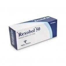 Рексобол Винстрол 50mg - 50 таблетки 50mg - Альфа-Фарма