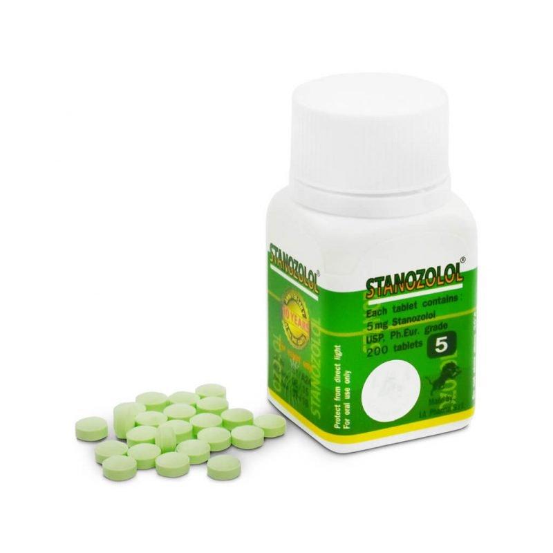 Stanozolol 5 mg 200 Tablettenfläschchen - LA Pharma