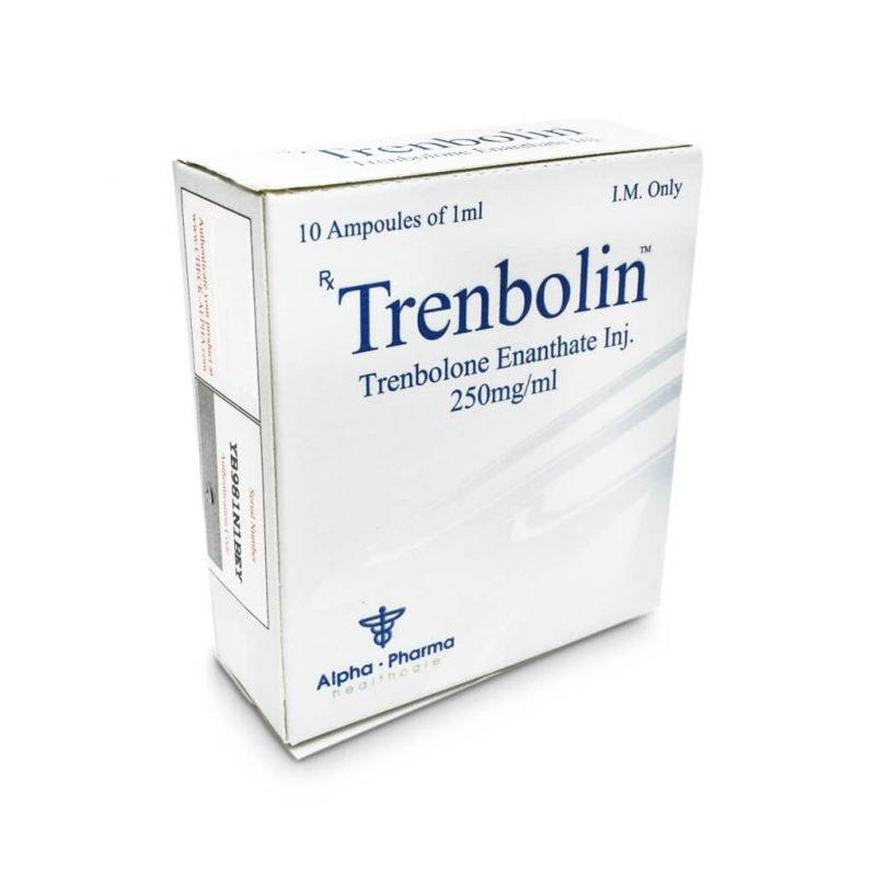 Trenbolin Tren E 250mg / ml 10 x 1ml Ampere - Alpha-Pharma