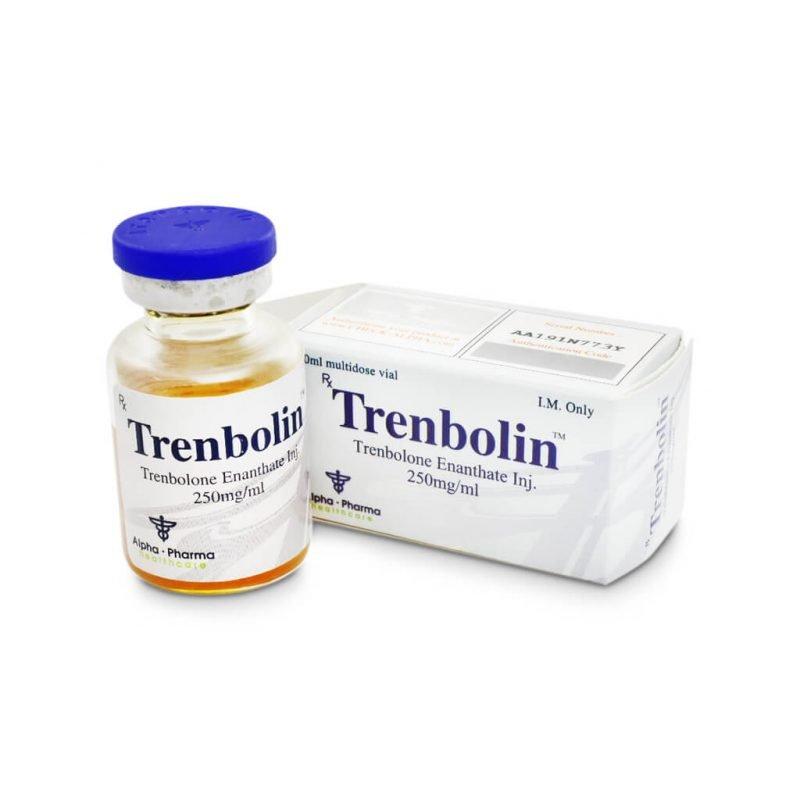 Trenbolin Tren E 250mg / ml 1 10ml vial - Alpha-Pharma