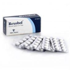 Rexobol Winstrol 10mg - 50 tablets 10mg - Alpha-Pharma