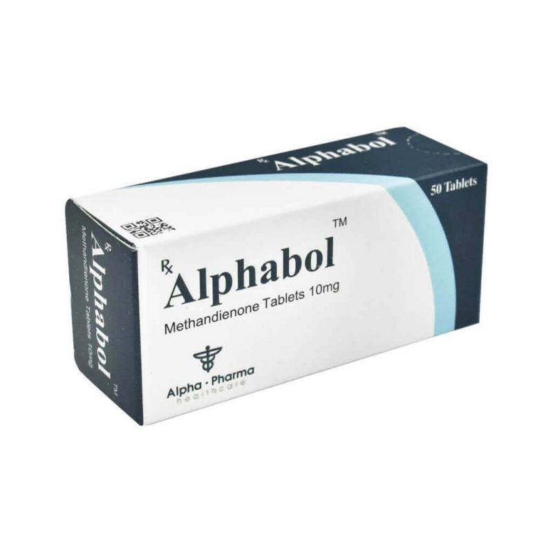 Methandienon Alphabol - 50 Tabletten 10mg - Alpha-Pharma