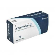 Altamofen Nolvadex - 50 tablets 20mg - Alpha-Pharma