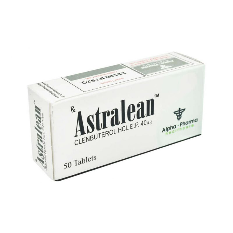 Astralean Clenbuterol - 50 Tabletten 40mcg - Alpha-Pharma