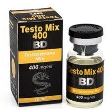 Testo Mix 400 BD 400 mg/ml x 10 ml - Black Dragon