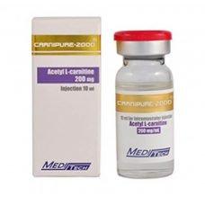 CARNIPURE-2000 Acetyl L-Carnitin 200mg / ml 10ml / Fläschchen - Meditech