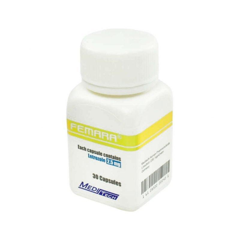 FEMARA Letrozol 2.5mg / Kappe 30cap - Meditech