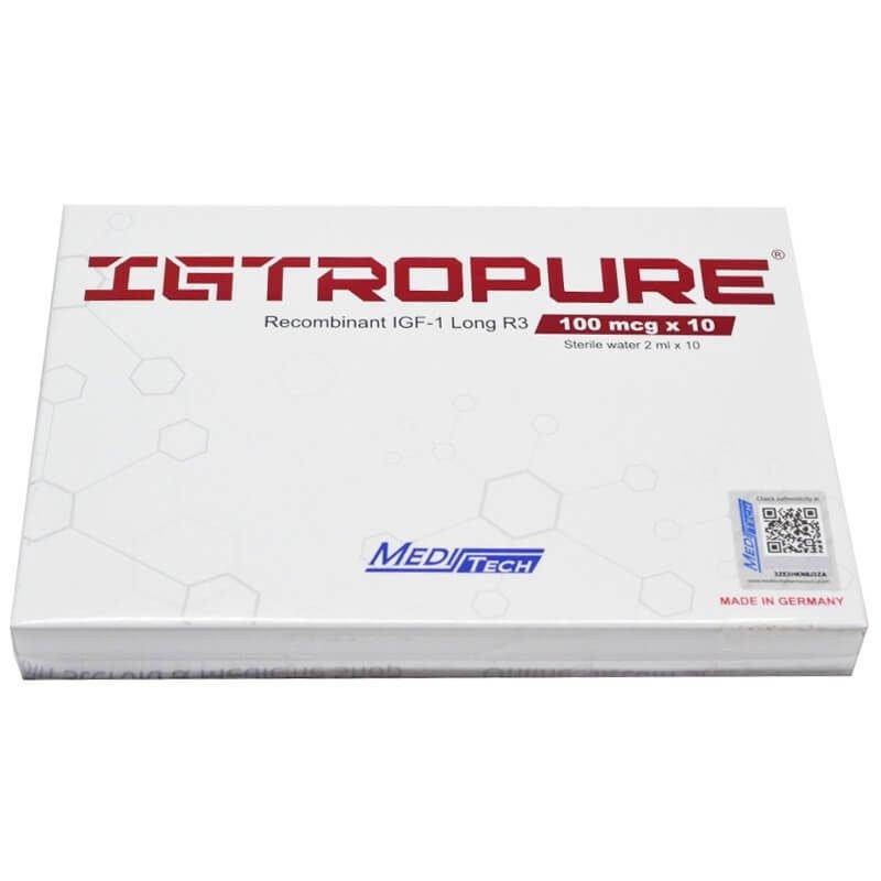 IGTROPURE IGF-1 Recombinant LongR3 100mcg / vial 10vials / box - Meditech