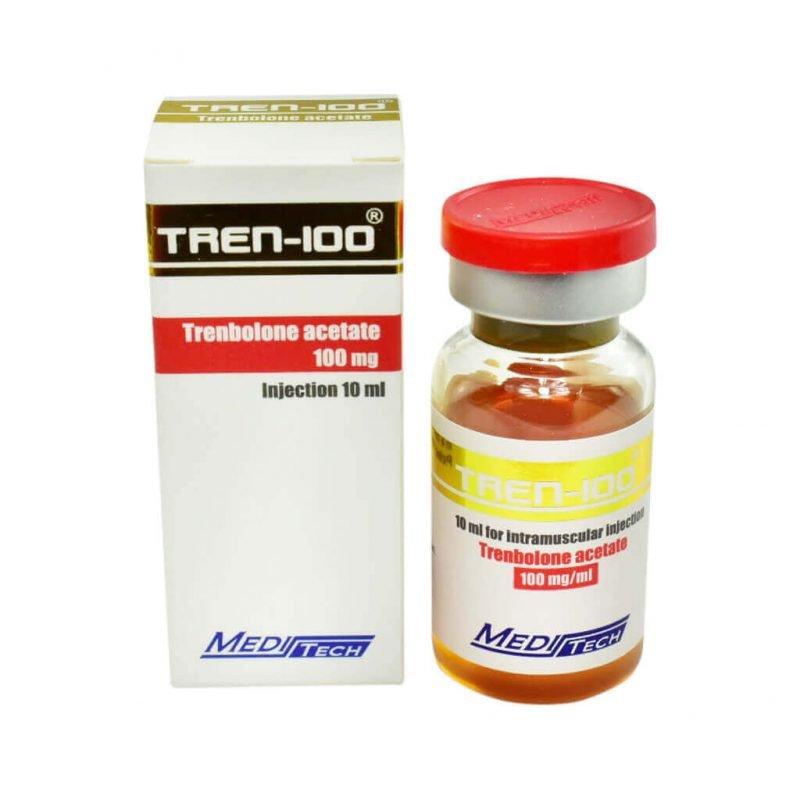 TREN-100 Trenbolonacetat 100mg / ml 10ml / Fläschchen - Meditech